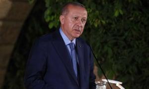 Turkish President Recep Erdoğan.