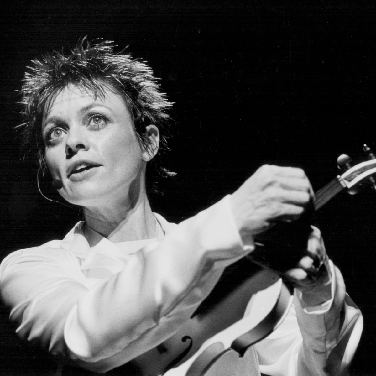Laurie Anderson: where to start in her back catalogue   Laurie Anderson   The Guardian