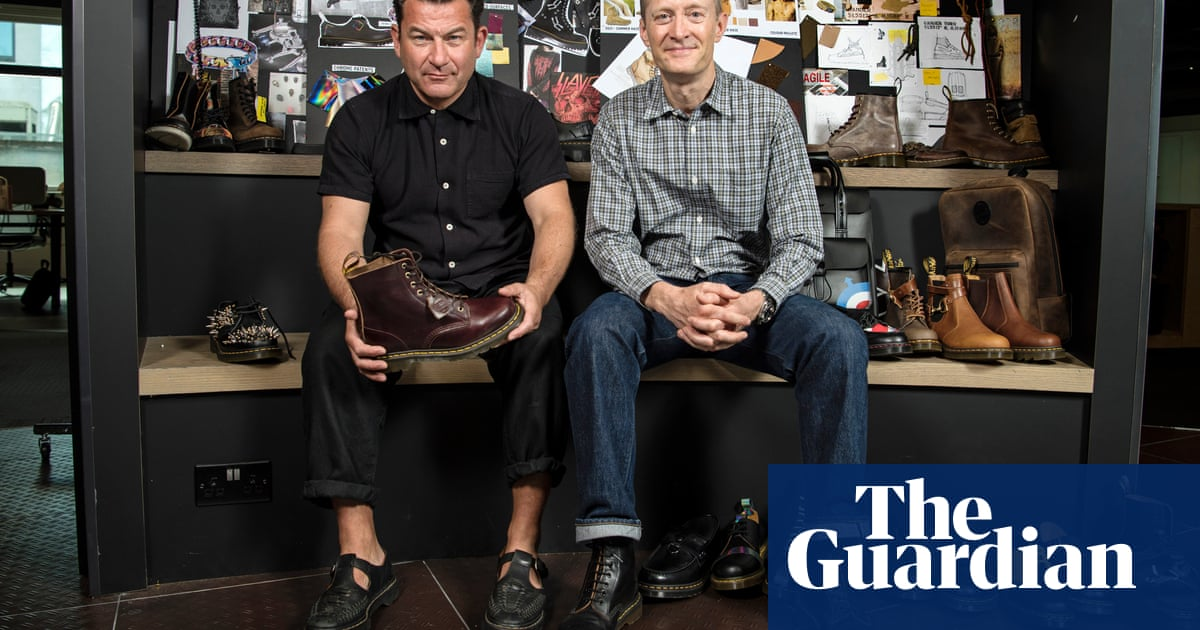 Oh so pretty … political upheaval credited for Dr Martens sales boost