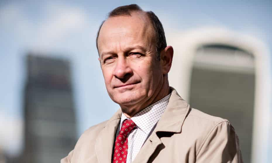 Ukip leader Henry Bolton. The party's national executive could pass a vote of no confidence against him on Sunday.