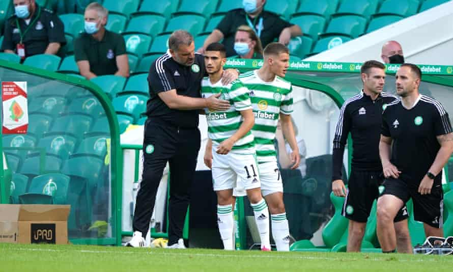 Ange Postecoglou and the Queen's Celtic are already into Big Cup action.