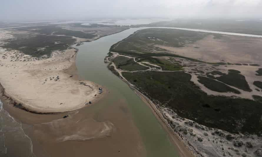 Four people died trying to enter the US via the Rio Grande.