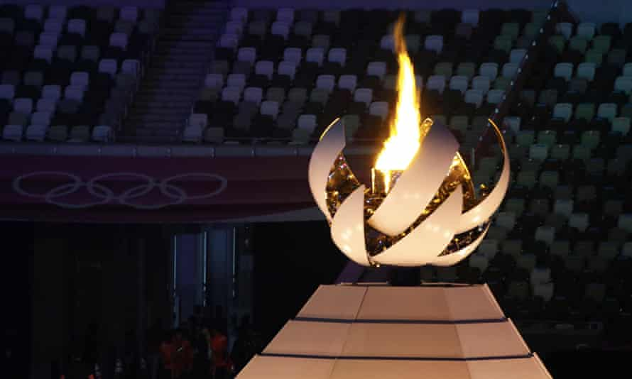 The Tokyo Olympic flame was symbolic of a zero-carbon future