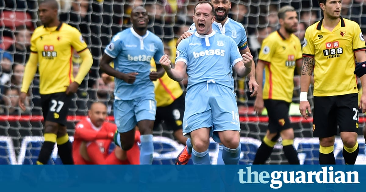 Watford v stoke city premier league as it happened for Q kitchen watford city