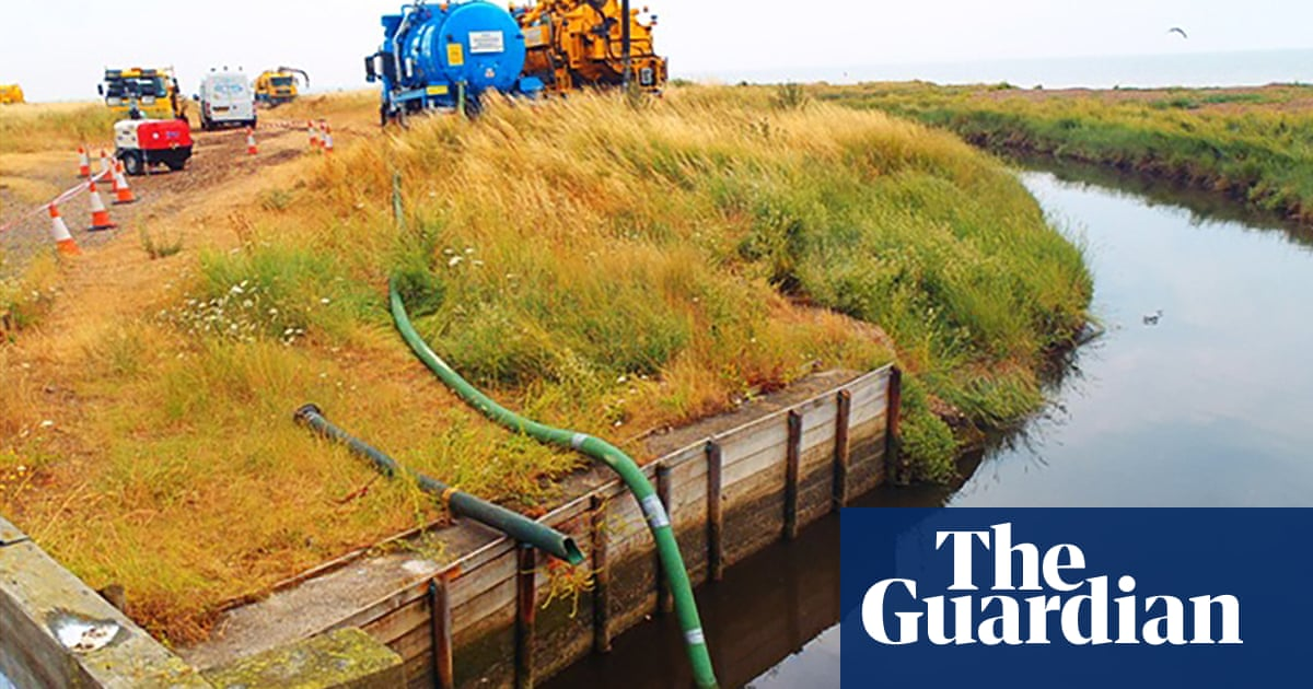 Southern Water must pay for its pollution spills, watchdog