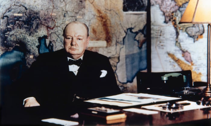 Winston Churchills Eccentric Working Habits Revealed In Rare Papers