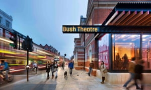 Younis has transformed the Bush Theatre from a 80-capacity room above a pub to a striking venue with two theatres, rehearsal space and writer's room.