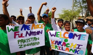 Pakistan fans welcomed Sri Lanka back to the country for T20s and one-day internationals in September and October.