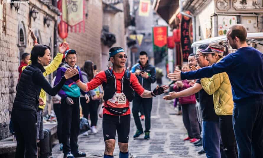 Support on the course of Mt Gaoligong By UTMB