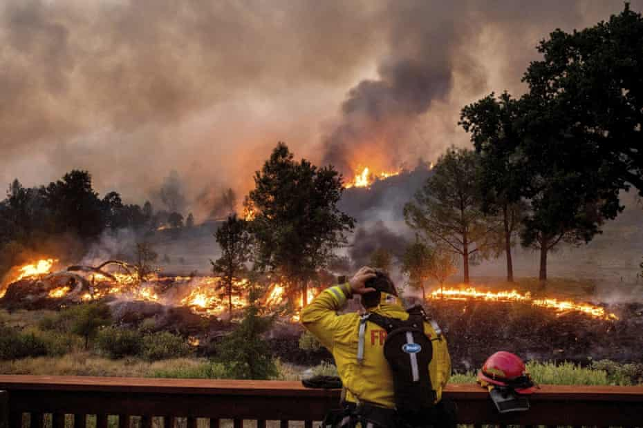 The amount of land burned in California this season is more than double the previous record.