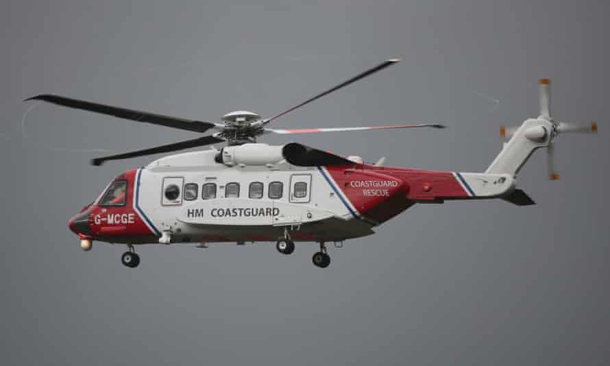 HM Coastguard said a search was being conducted between Caernarfon Bay and the shore of Dublin.