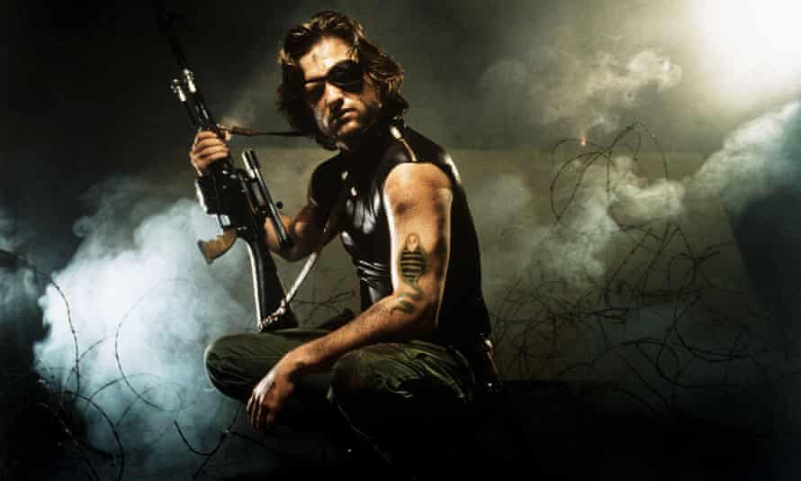Kurt Russell as an iconoclast forced to accept a near-suicidal mission in Escape from New York