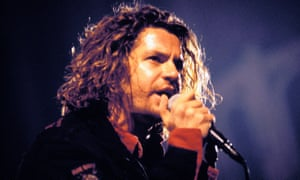 Michael Hutchence performing in 1993