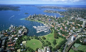 In Australia the wealthy live in neighbourhoods with other wealthy people and the poor live among those who share their disadvantage.