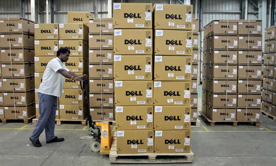Dell computers in a company factory in Sriperumbudur Taluk, 2011.