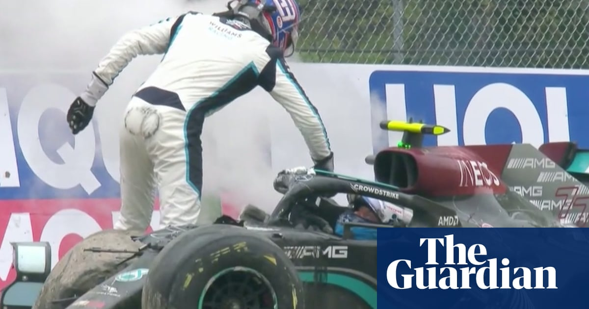 George Russell issues full apology to Valtteri Bottas after Imola F1 crash