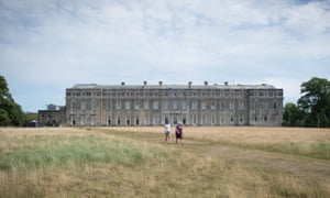 The National Trust's Petworth House, West Sussex, which reopened for visitors this month.