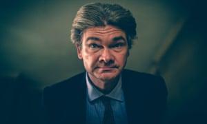 Horror's Tory ... Simon Farnaby as Julian in Ghosts.