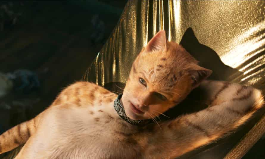 Taylor Swift in the film Cats, directed by Tom Hooper.