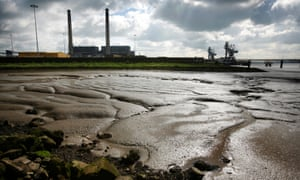 Tilbury power station overlooking Thames mudflats. Critics of the study argue that beauty can be a false measure of what is worth preserving.