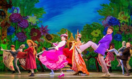 Mary Poppins Review Stageful Of Sugar Is A Rapturous Delight Theatre The Guardian