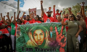 A still from Rest in Power: The Trayvon Martin story.