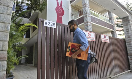 Amnesty International's office in the southern city of Bengaluru was raided in October.