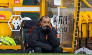 Nuno Espírito Santo has problems to address at Wolves.