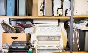 The typewriter store in Berlin.