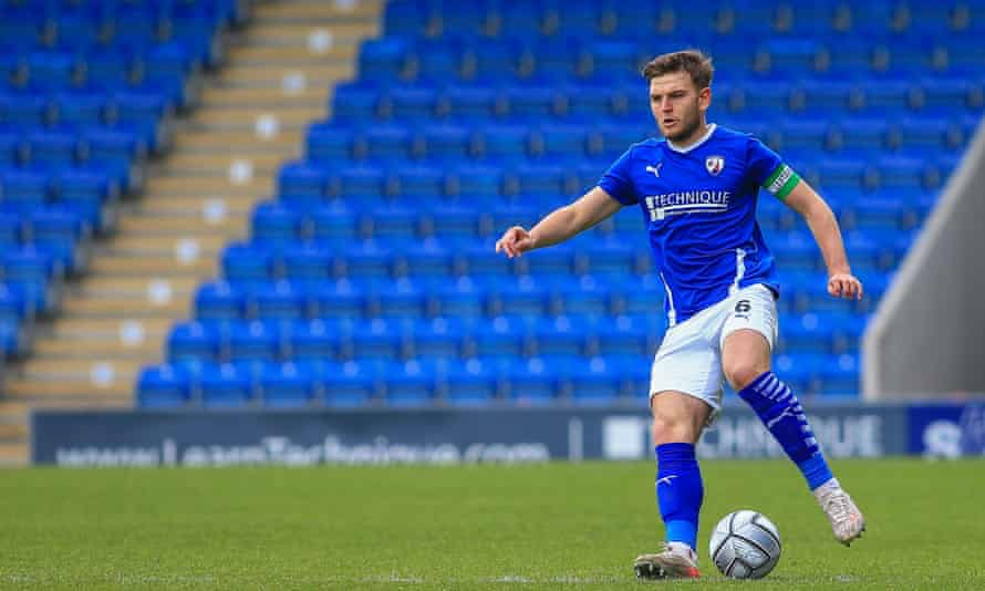 Chesterfield's Lawrence Maguire