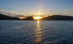 Sunset at Cid Harbour