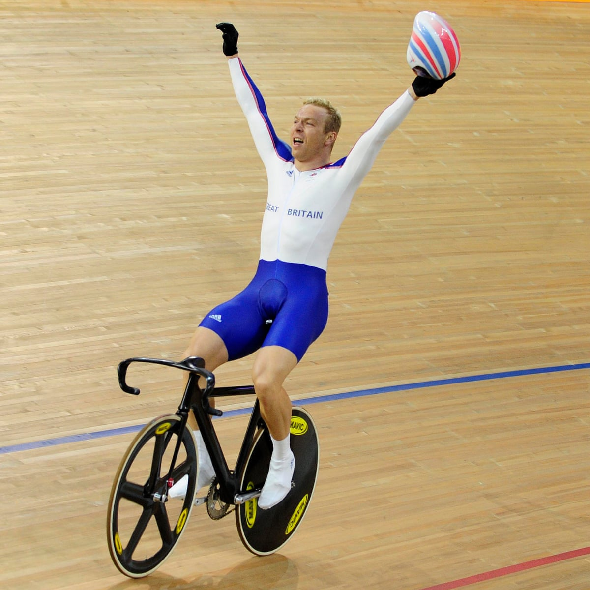 Chris Hoy I Had No Natural Ability As A Cyclist Books The Guardian