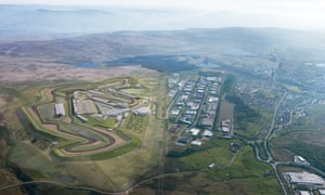 An artist's impression of the Circuit of Wales.