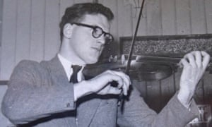 Tommy McGoldrick played his fiddle across Ireland and in the Irish pubs of London
