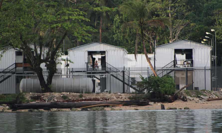 Australian-run asylum seeker detention centre on Los Negros Island, Manus province