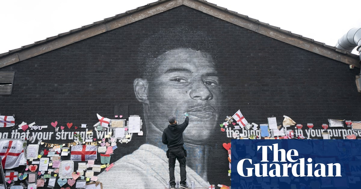 Marcus Rashford mural damage 'not believed to be of racial nature', say police