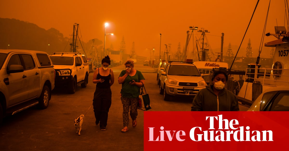 3000 - Australia fires live: NSW and Victoria bushfires heap pressure on Scott Morrison – latest updates | Australia news