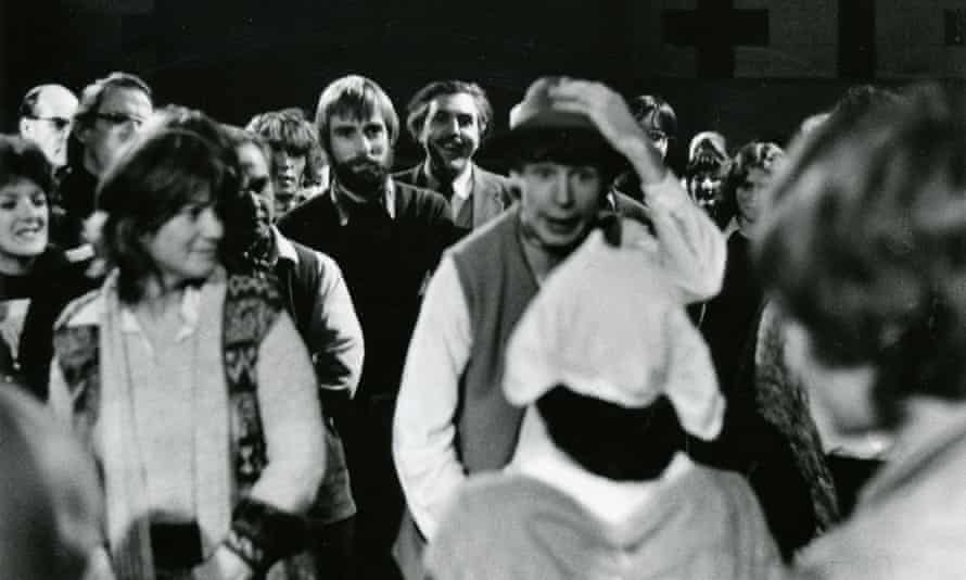 The Reckoning, Ann Jellicoe's first community play, in Lyme Regis, Dorset, 1978.
