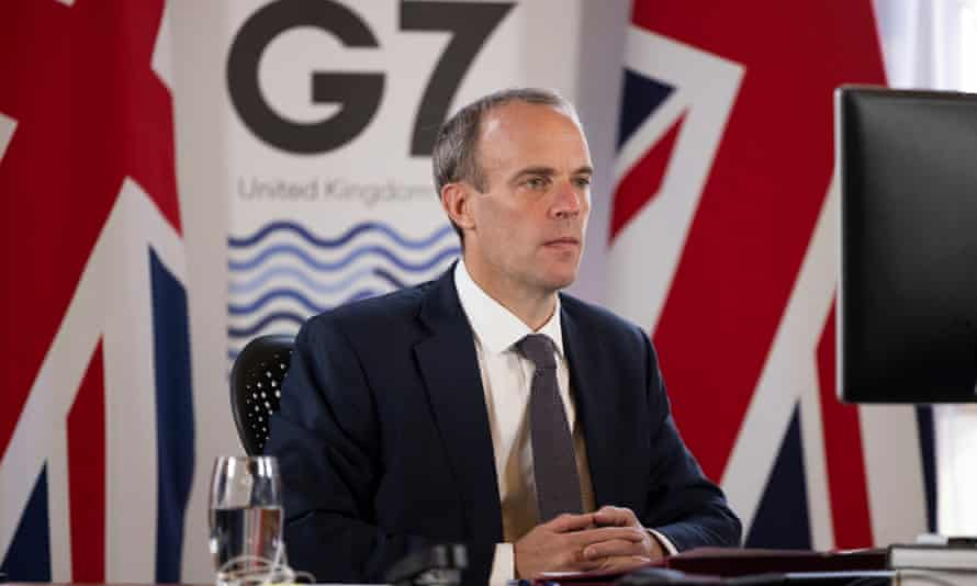 Dominic Raab's department did not deny he asked another minister to call to assist the evacuation of former British military translators.