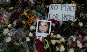 A photograph of Charlottesville victim Heather Heyer.