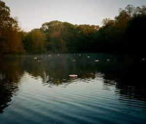 'There was something magical about the unplumbed depths, the moorhens, the waterlilies, the willows, the floating rings and rafts': Margaret Drabble.