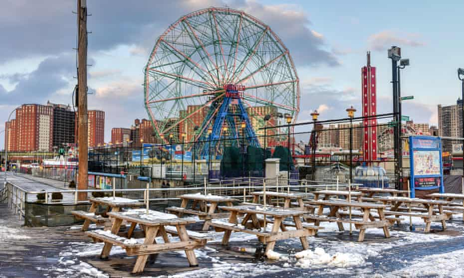 Last resort … the Luna Park, Coney Island.
