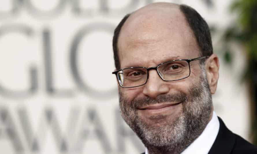 Scott Rudin at the Golden Globes. He said: 'After a period of reflection, I've made the decision to step back from active participation on our Broadway productions, effective immediately.'