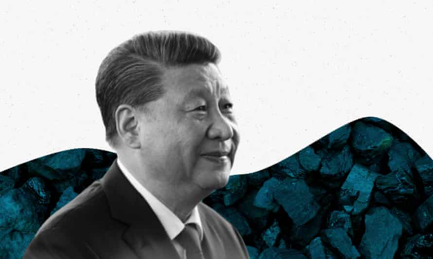 Xi Jinping and coal composite