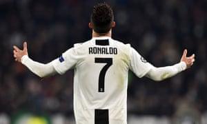 ronaldo s defining display shows fino alla fine spirit is alive at juventus eni aluko football the guardian juventus eni aluko football