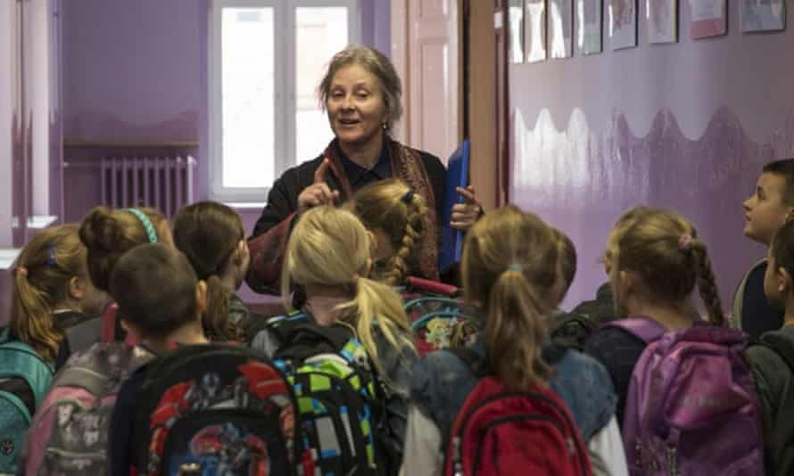 Teacher and mystic ... Agnieszka Mandat-Grabka in Pokot (Spoor).
