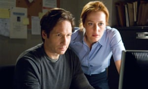 David Duchovny and Gillian Anderson in the 2008 film The X-Files: I Want to Believe