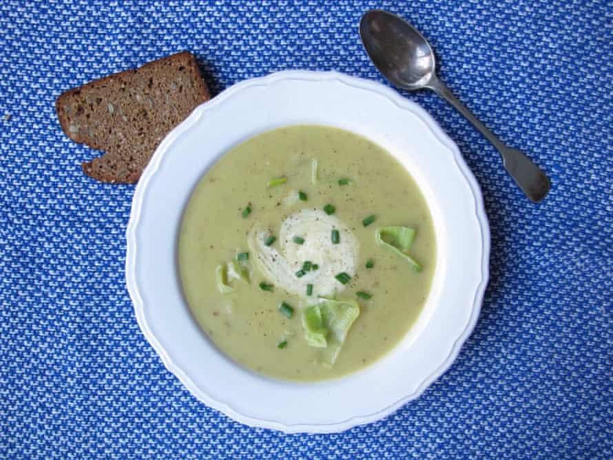 The perfect leek and potato soup.