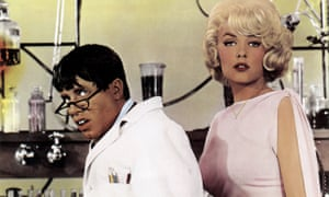 Lewis with Stella Stevens in The Nutty Professor.