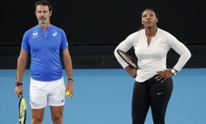 Patrick Mouratoglou doesn't think the enforced break will affect Serena Williams.